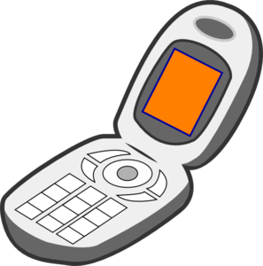 phone-clip-art-cell-phone-grey-orange-md
